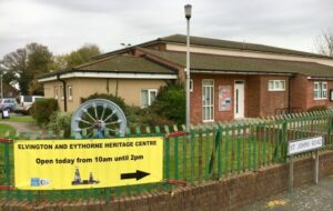 Photo of the exterior of the Elvington and Eythorne Heritage Group Centre